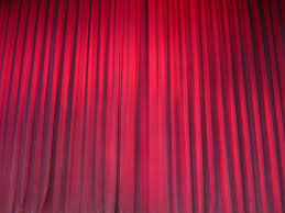 light texture auditorium interior line red color curtain cloth decor material fabric interior design textile theatre