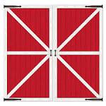 Images & Illustrations of barn door