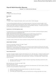 Sample Resumes For Accounts Payable Accounts Payable Resume Sample
