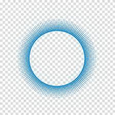 Circle Border Round Blue Frame Illustration Blue Circle Pattern Circle