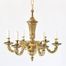 antique french bronze mazarin chandelier