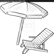 Beach Chair Drawing Beach Chair Drawing Amazing Beach Chair Drawing