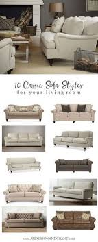 10 Classic Sofa Styles for Your Living Room