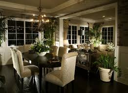 dining room sets for sale by owner. dining room space that opens up to living room. dark wood floors match the sets for sale by owner