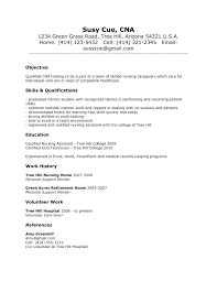 Cna Resume Templates Adorable Example Of Cna Resume Download Resume Summary Cna Sample Resume