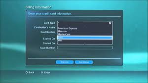 tutorial how to add funds to psn via credit card voice over you