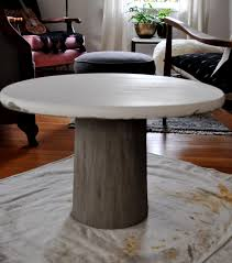 polished concrete furniture. Top 64 Supreme Outdoor Furniture Concrete Table Polished Louis Dining And Wood Round O