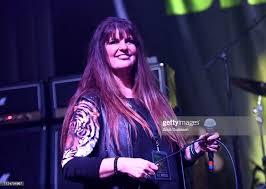 Singer Kirsten Rosenberg of The Iron Maidens performs onstage ...