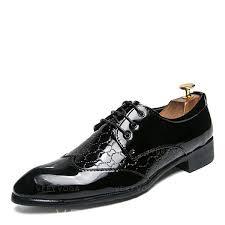 lace up dress shoes patent leather men s men s oxfords