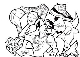 Small Picture Michael Jordan Coloring Pages Best Coloring Pages