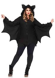 Cozy Wings Size Chart Leg Avenue Cozy Bat Dress W Bat Wing Sleeves And Furry Ear Hood