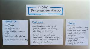 de clutter challenge declutter your world in 10 days be more with less