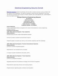 Magnificent Best Resumes For Electrical Engineers Your Resume Cute
