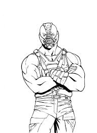Small Picture Batman Coloring Pages Bane Coloring Pages