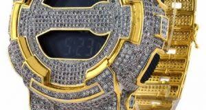 make sure your style iting heavy with a brand new bling diamond watch