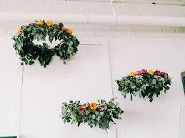 flower chandelier diy