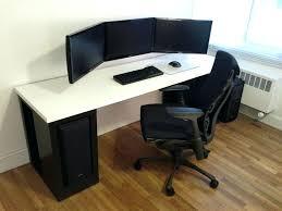 portentous gaming desk photos info at computer desktop with monitor deals