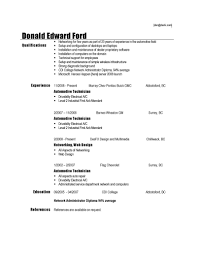 Examples Of Resumes Sample Curriculum Vitae For Job Application. Amazing Michael  Kors ...