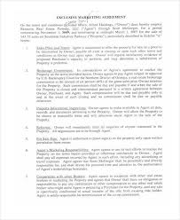 Real Estate Marketing Agreement Template House Sale Contract ...