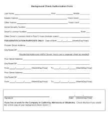 Background Check Authorization Form Gorgeous Authorization Form Template Saunaweb