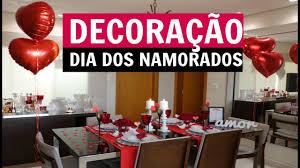 DECORAÇÃO DIA DOS NAMORADOS - JANTAR - YouTube
