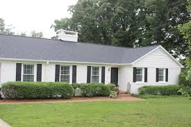 Attractive Long Short Painted Brick Houses Before After