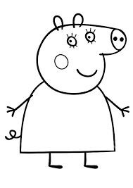 Pig Coloring Pages Pig Coloring Pages Mummy A Peppa Pig Coloring