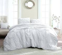 white pin tuck queen comforter oversized bedding king sets micro