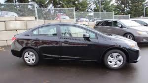honda civic 2014 black. Plain 2014 2014 Honda Civic LX  Crystal Black DE284564 Seattle Renton  YouTube Intended 1