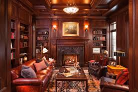home library lighting. Classic Home Library Design Ideas Lighting
