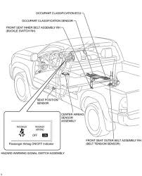 location of airbag control module tacoma world 2006 Sierra Airbag Wiring center airbag sensor assembly bech seat jpg 2006 PT Cruiser Wiring-Diagram