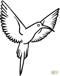 Small Picture Hummingbirds coloring pages Free Coloring Pages