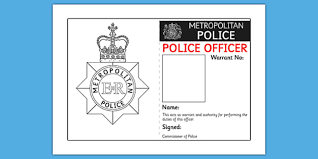 - Badge Play Identity Role Id Police Police Template