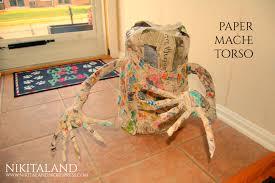 Paper Mache Decorating Halloween Decorating Has Begun Nikitaland