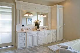 double vanity with linen tower stupefy model of bathroom simpleandsweets homes decorating ideas 9