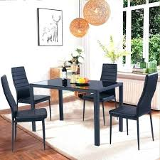 glass kitchen table steel dining manufacturers metal set outdoor room tables ikea canada stee