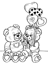 Valentine Coloring Pages (15) - Coloring Kids