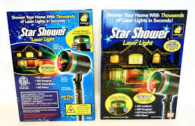 As Seen On Tv Christmas Light Projector 2 Two Star Shower Laser ...