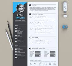 Resume Template For Word Amazing 60 Eye Catching CV Templates For MS Word Free To Download