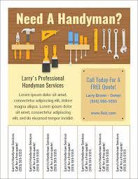 free handyman flyer template best handyman flyers for sale