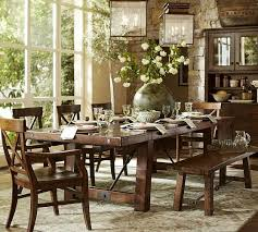 dining table 7 piece set luxury black dining room table pottery barn benchwright extending dining