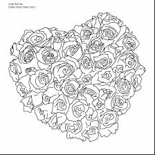 Small Picture Flower Coloring Pages Printable For Adults Coloring Pages