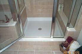 tile redi shower base medium size of walk in walk in shower tray tile ready shower