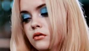 blue eyeshadow rules pop culture but who actually wears it