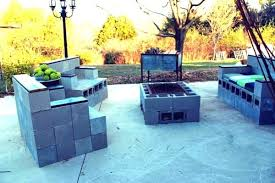concrete block furniture. Build A Complete Cinder Block Furniture Set With Armchairs And Couch Concrete E