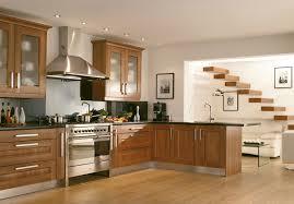 modern style wooden kitchen design ideas darnbrook walnut display image