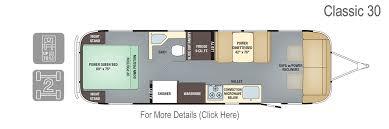 Airstream Weight Chart Airstream Classic 30 Floorplan Specs