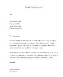 Quit Letter Samples 8 Resignation Notice To Sample One Month For