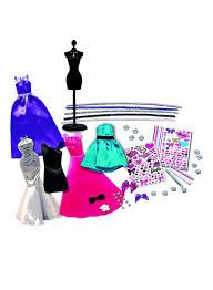 Doll Dress Design Kit Shop Tara Toys 150 Piece Barbie Be A Fashion Designer Doll Dress Up Kit Online In Dubai Abu Dhabi And All Uae