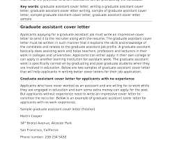 Teaching Assistant Covering Letter Graduate Teacher Cover